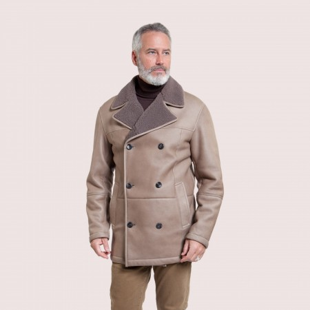 Leo Shearling Coat