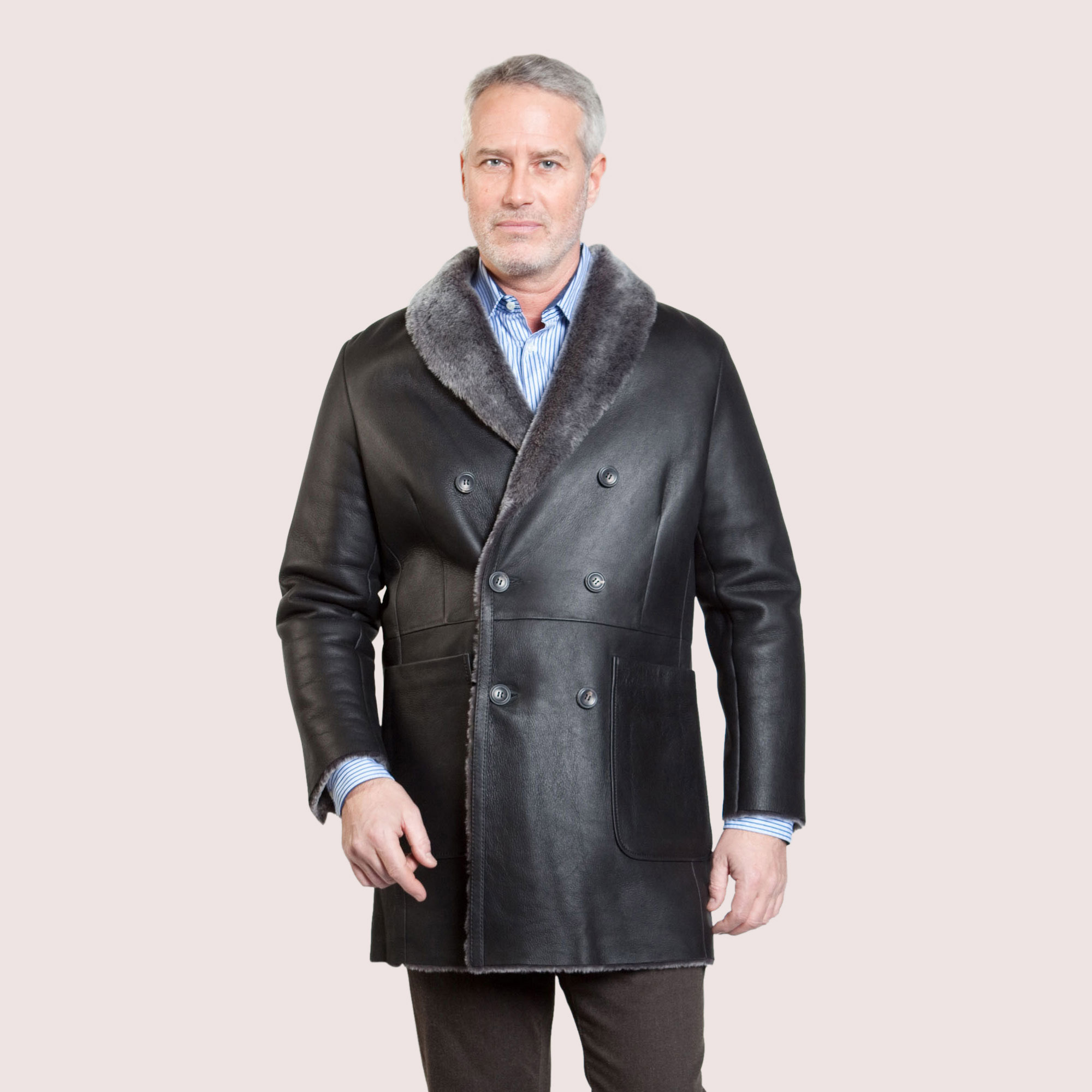 Milton Shearling Coat