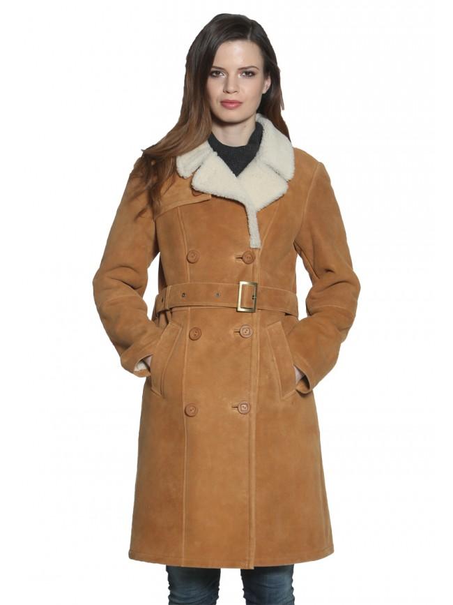 Peony Shearling Coat