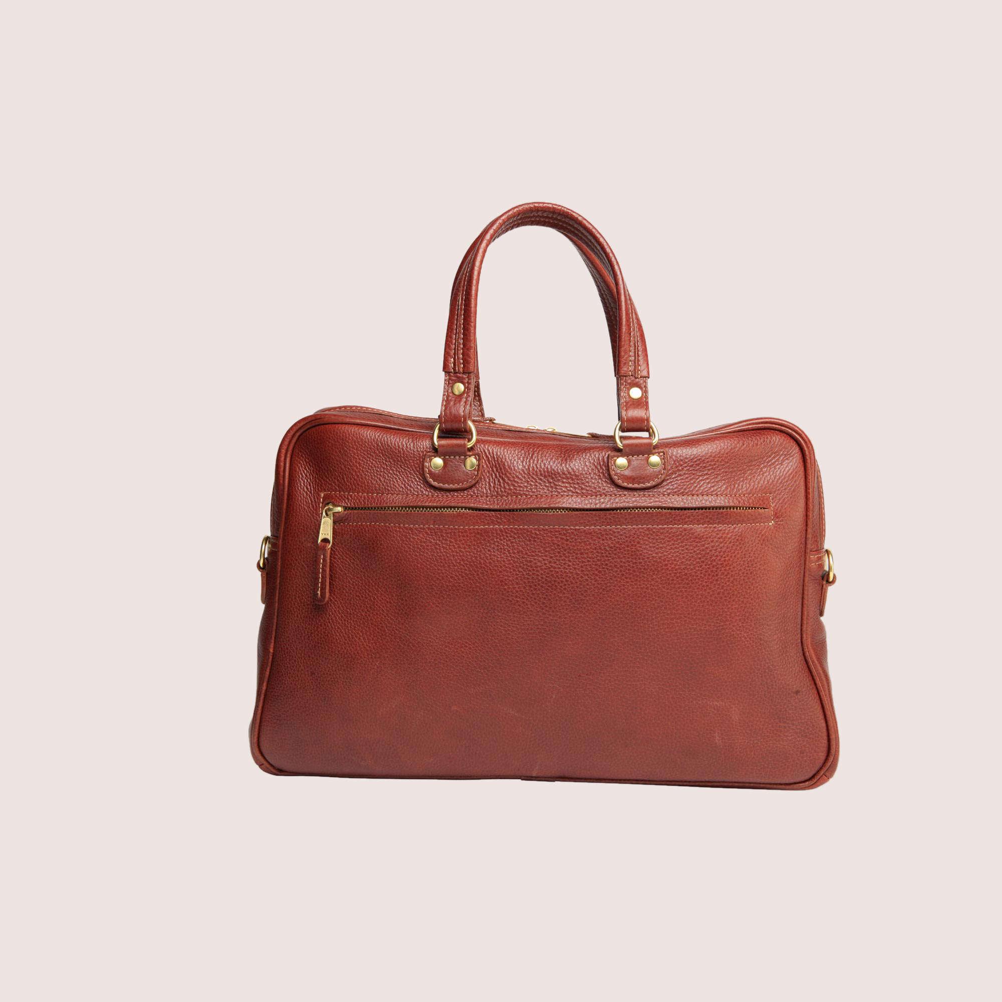 Blake Zippered Briefcase