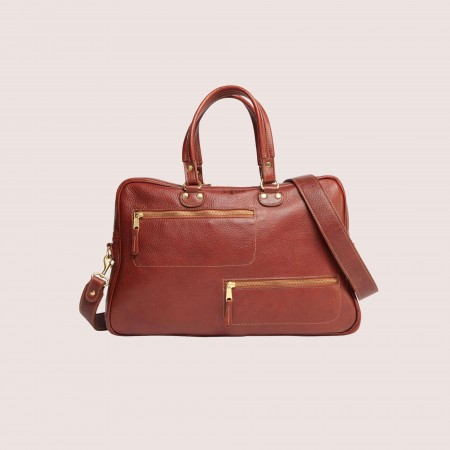 Blake Zippered Briefcase