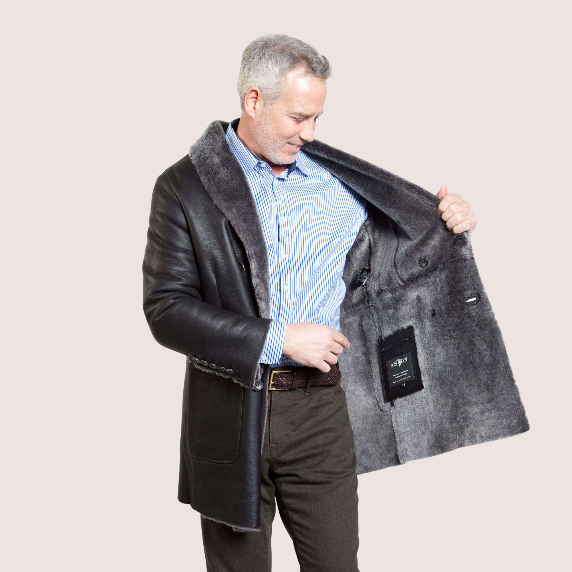 Milton Shearling Coat