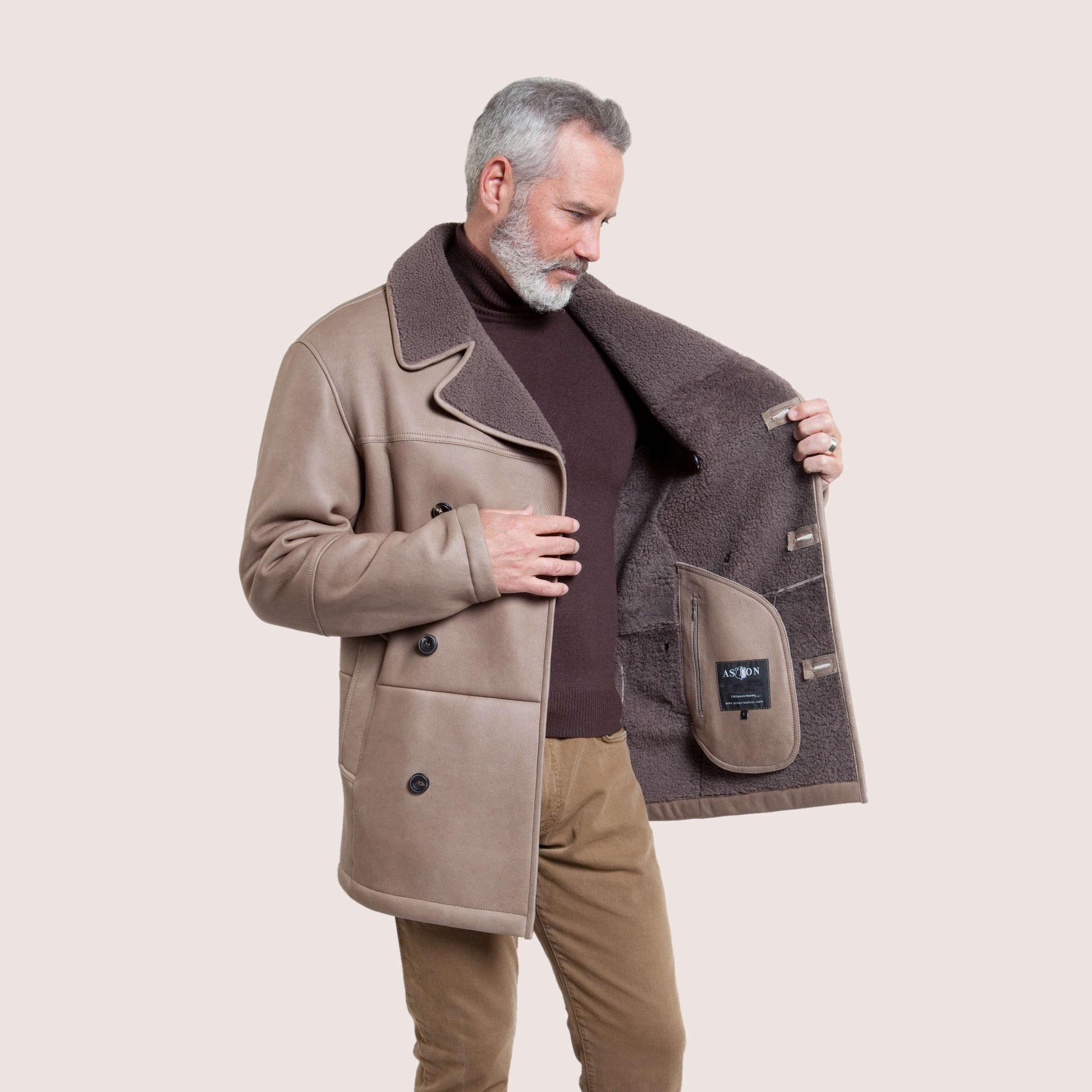 Leo Shearling Coat