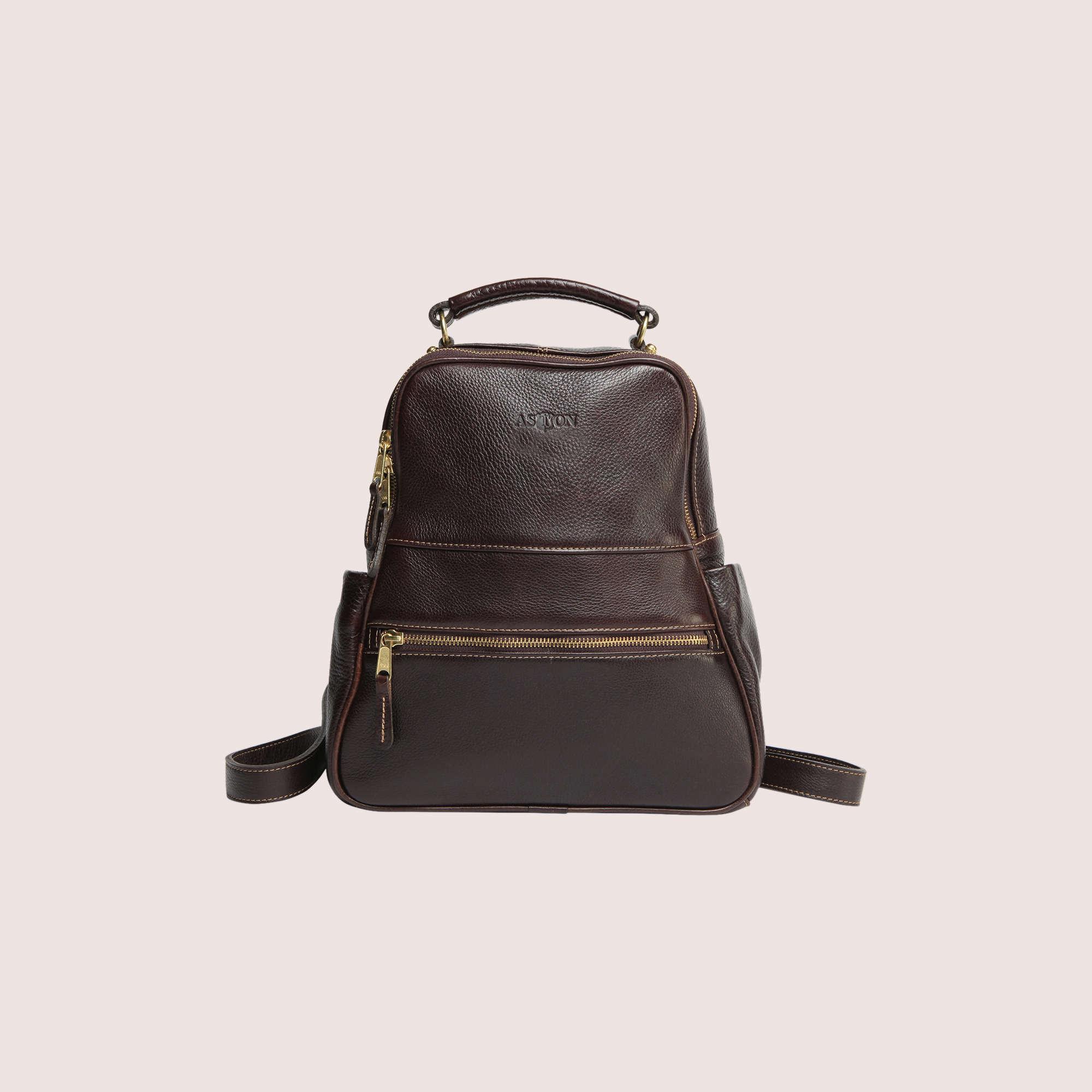 Jasmine Zippered Backpack