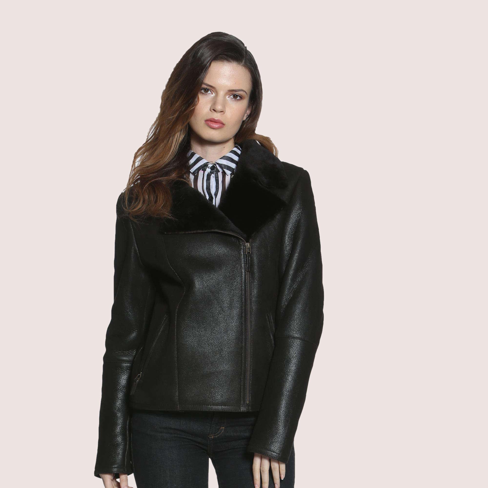 Amaryllis Shearling Jacket