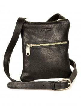 Ladies Slim Single Zippered Shoulder Bag