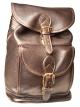 Medium Drawstring Backpack w/Front Buckle Pocket