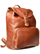 Medium Drawstring Backpack w/Front Zip Pocket