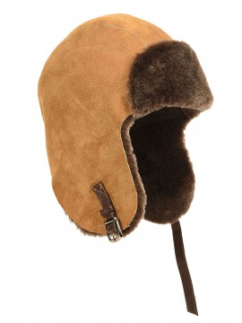 Dijon Sheepskin Hat