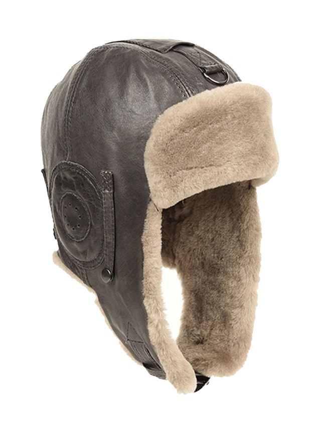 Royan Lambskin Aviator Hat