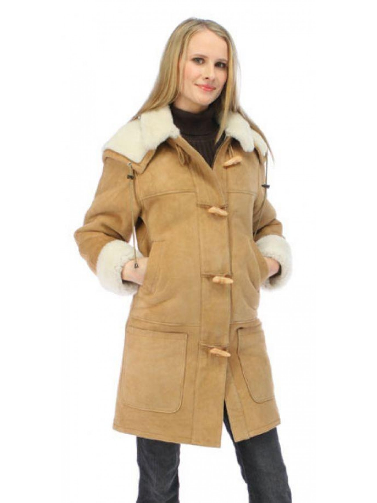 Women's Azalea Shearling Coat