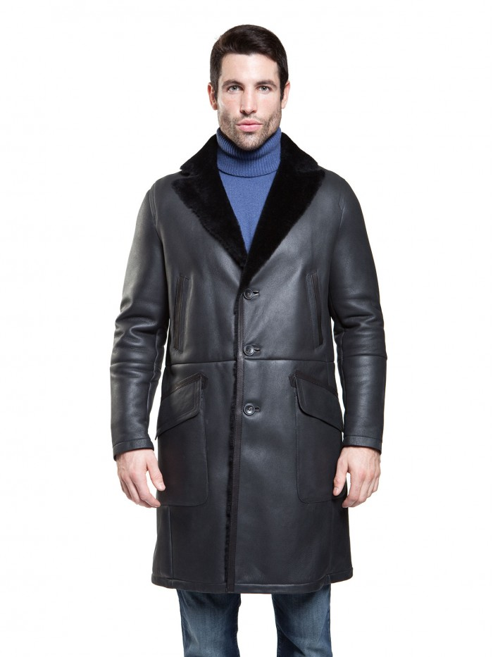 Madison Shearling Coat