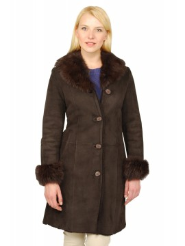 Dahlia Shearling Coat