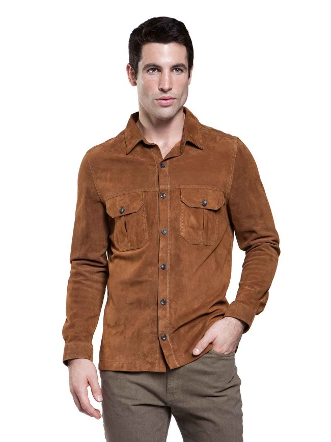 Midtown Goat Suede Shirt