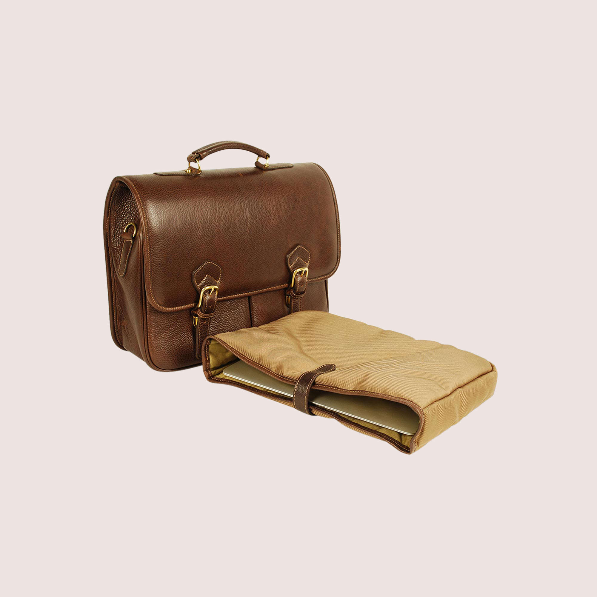 William Briefcase with laptop case
