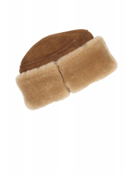 Syracuse Shearling Pill Box Hat