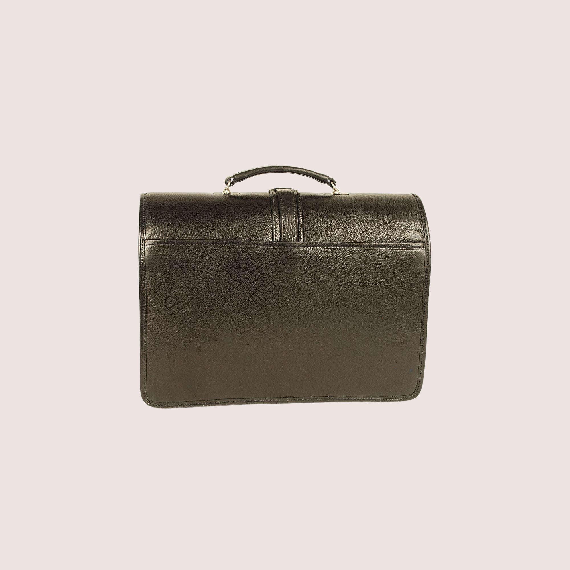 Melville Double Compartment Briefcase