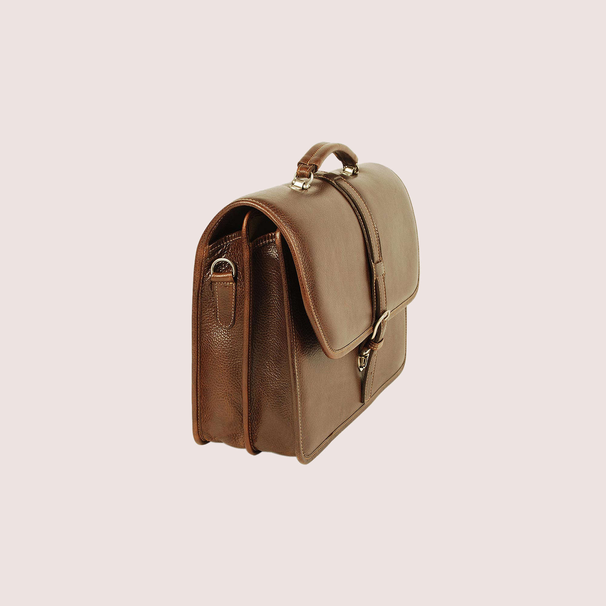 Melville Double Compartment Briefcase