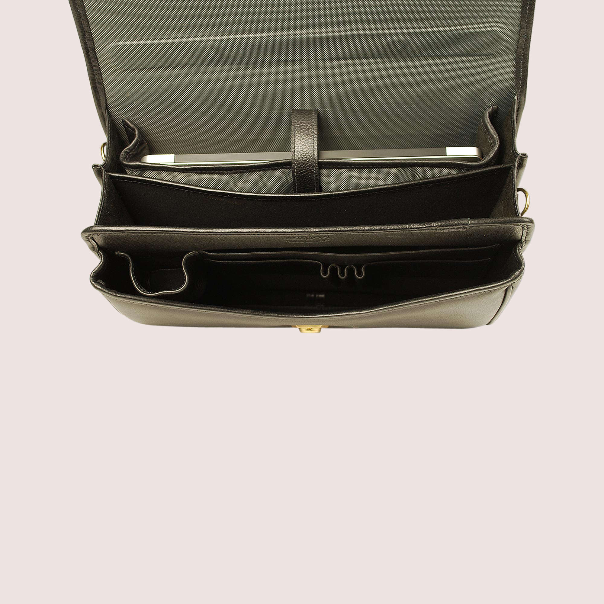Double Compartment Briefcase