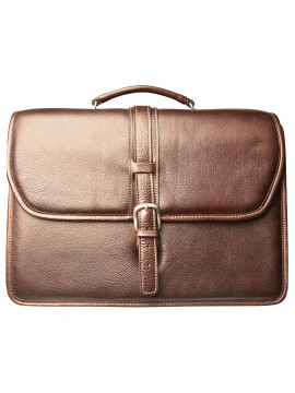 Melville Triple Compartment Briefcase