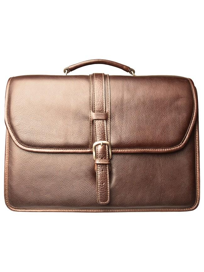 Melville Triple Compartment Briefcase