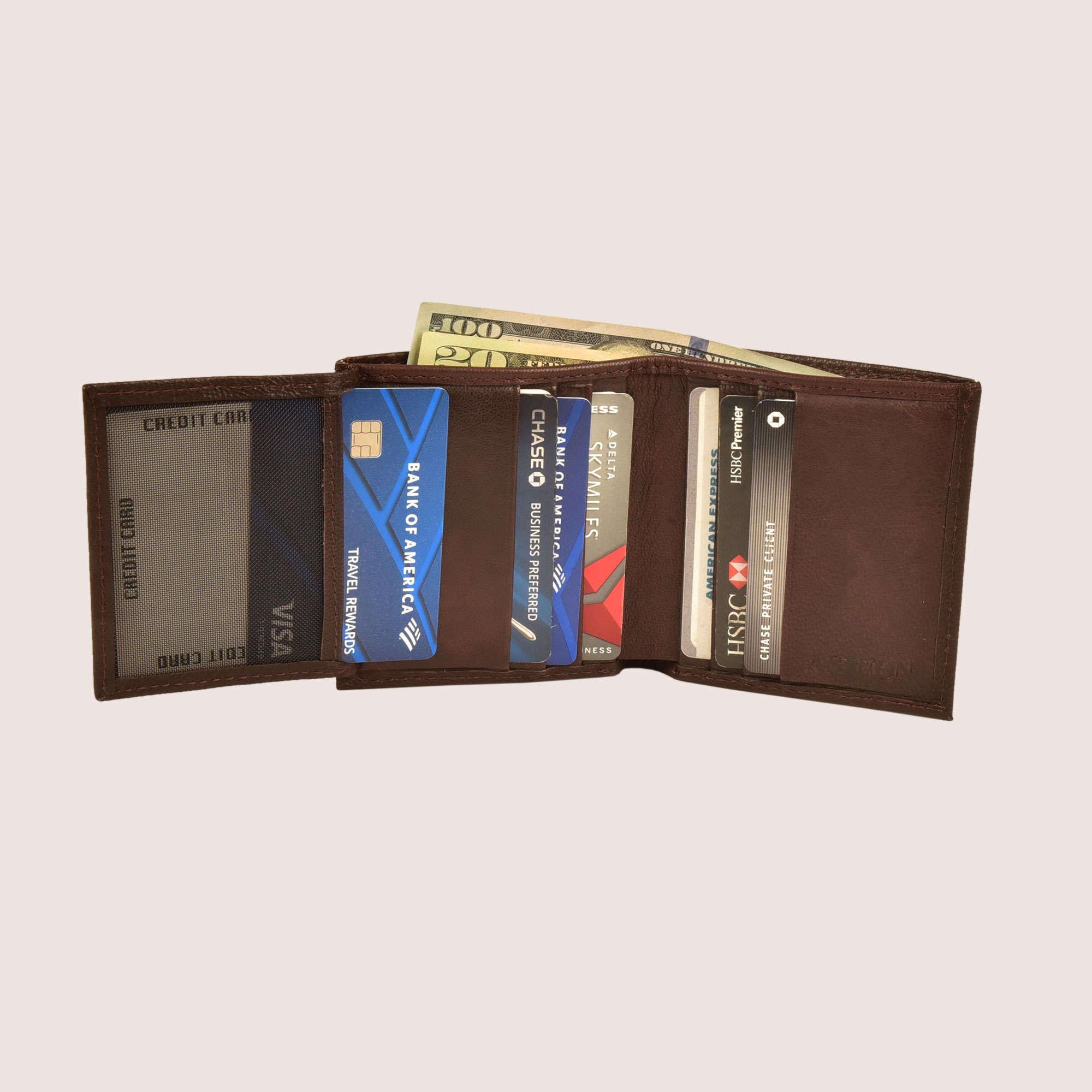 Alcott Trifold Wallet