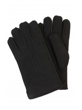 Men's Sheepskin Top-Stitched Gloves
