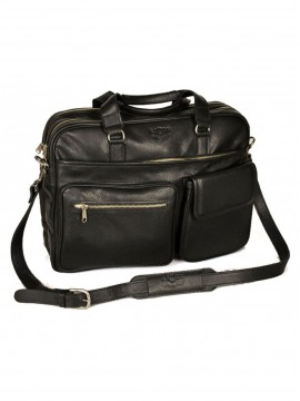 Tennyson Top Zippered Briefcase