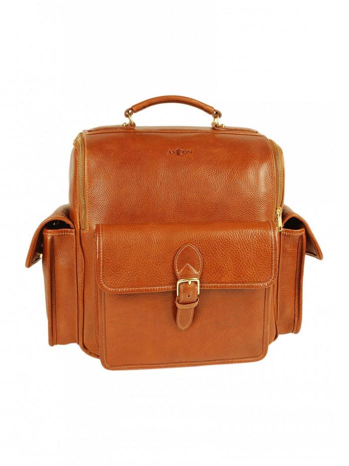 Oversized Zippered Backpack