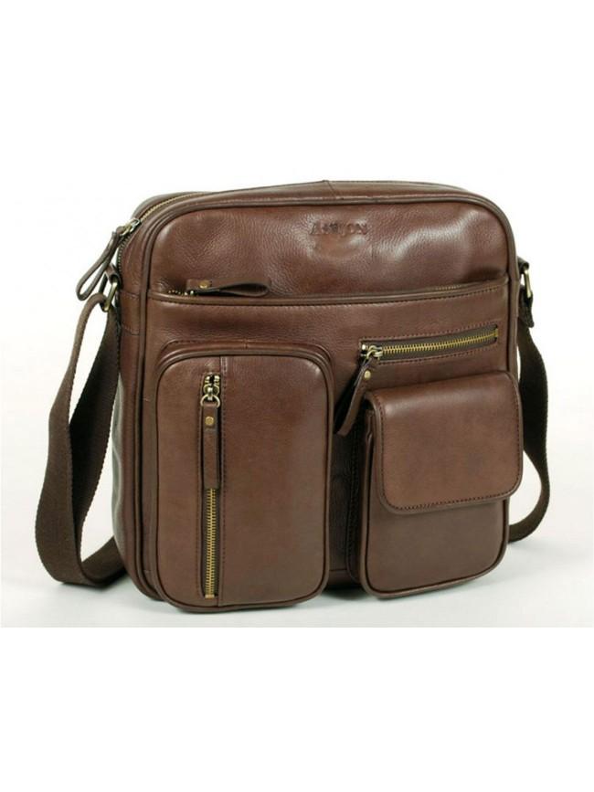 Multi Pockets Top Zipper Shoulderbag
