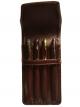Four Pen Leather Case