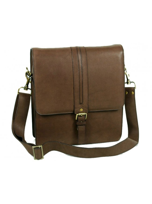 Shoulderbag with front buckle