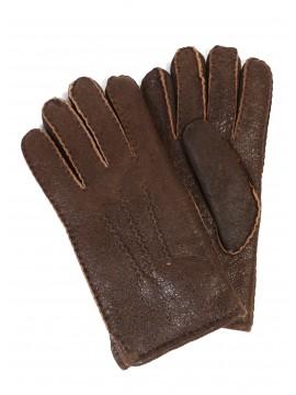 Men's Sheepskin Top-Stitched Gloves