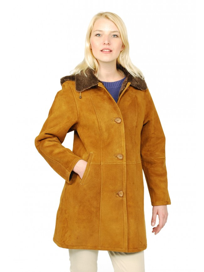 Jasmine Shearling Coat