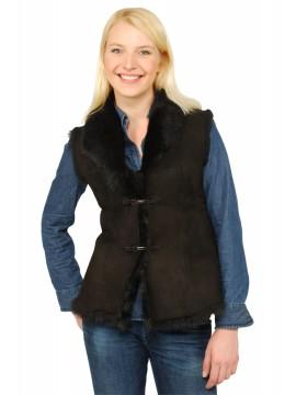 Olivia Shearling Vest