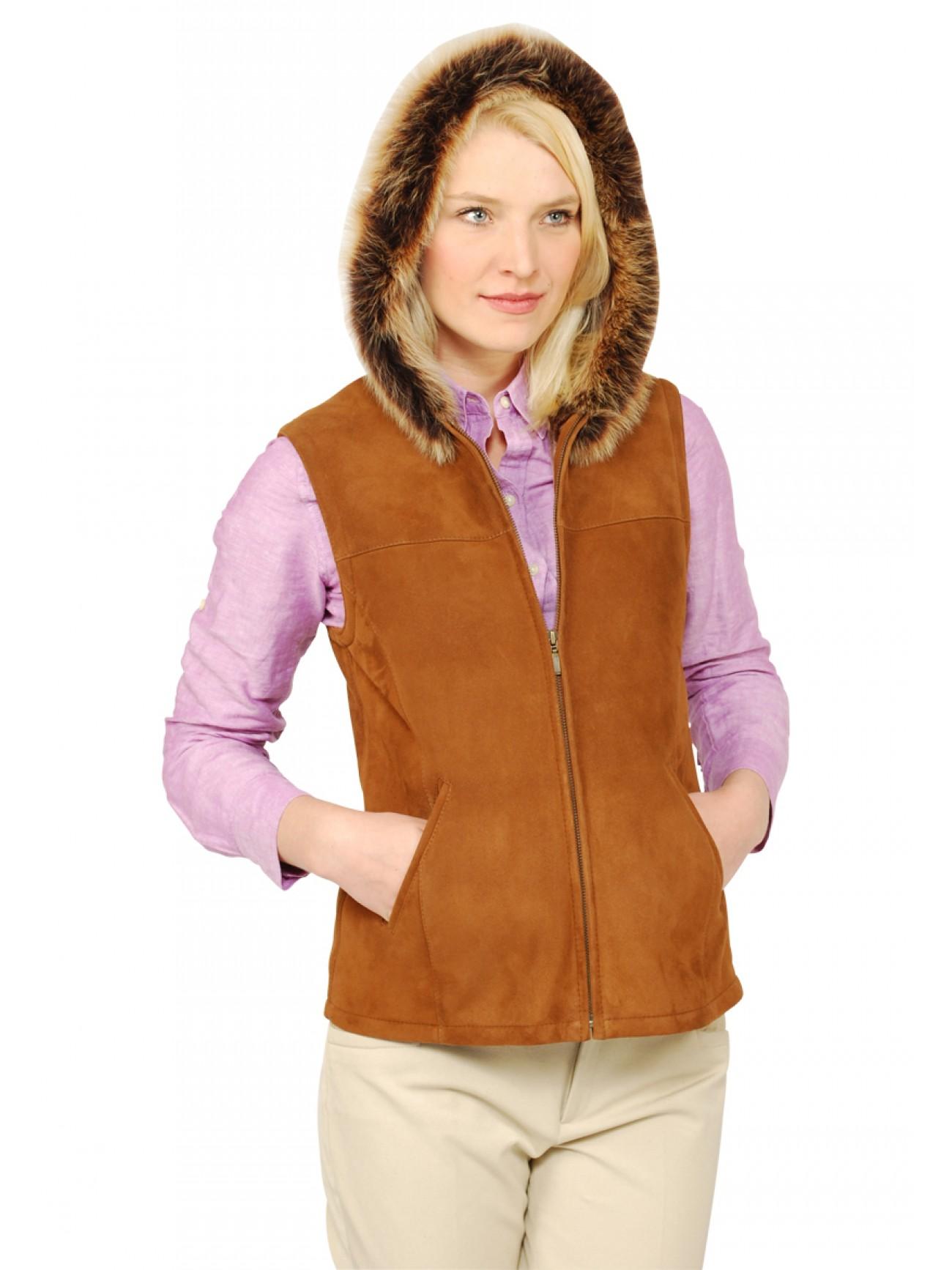Women S Celine Shearling Vest