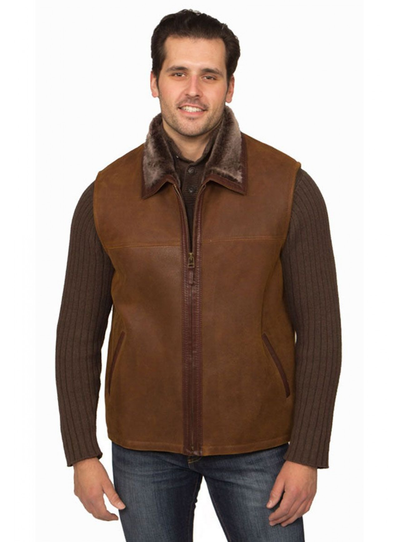 Men's Soho Shearling Vest
