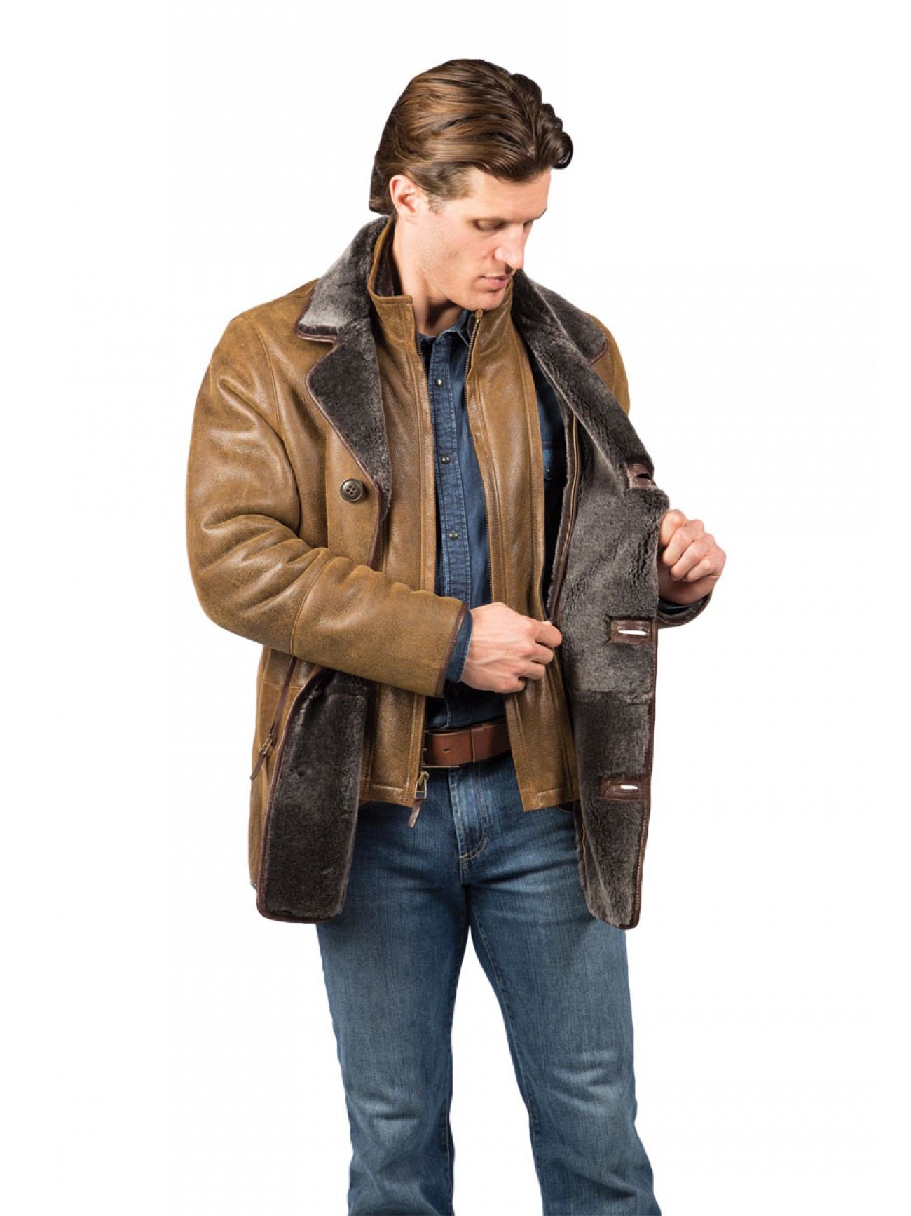 Men's Yonkers Shearling Coat