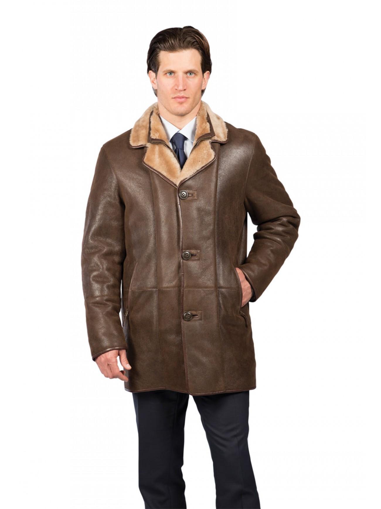 edccaff87 Men's Kingston Shearling Coat