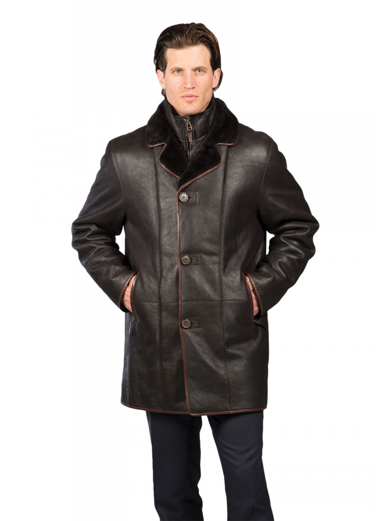Men S Kingston Shearling Coat