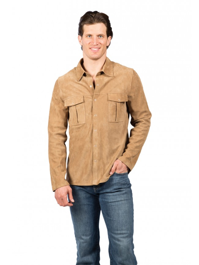 Goat Suede Shirt
