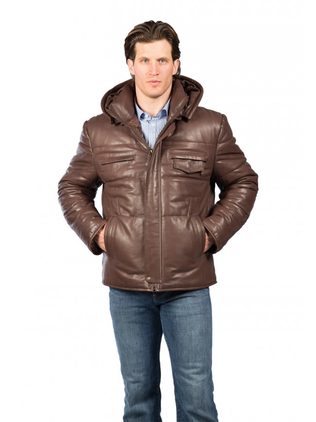 Philadelphia Lambskin Leather Jacket
