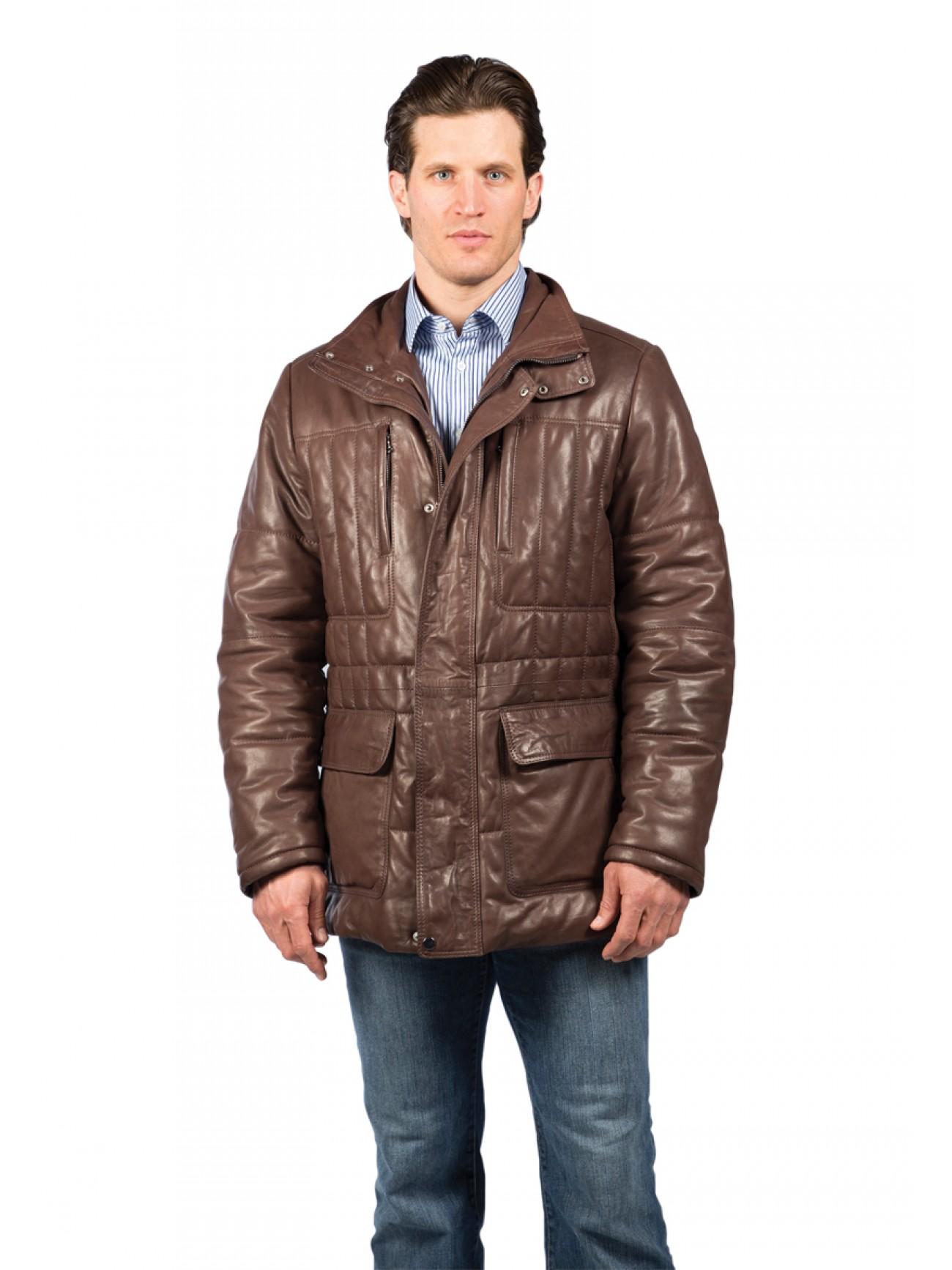 Leather jacket victoria - Victoria Lambskin Leather Jacket