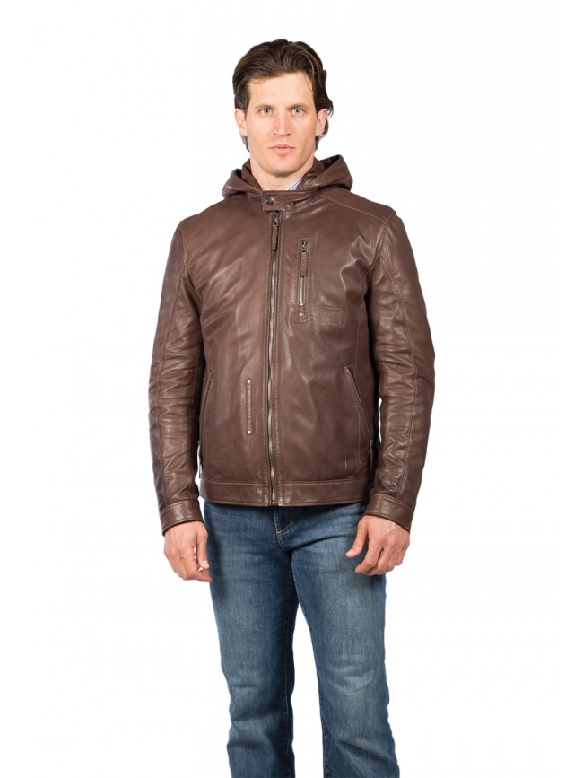 Tacoma Lambskin Leather Jacket