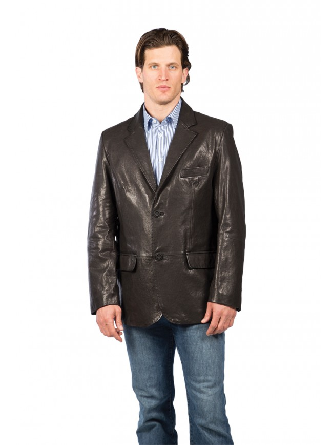 Houston Lambskin Blazer