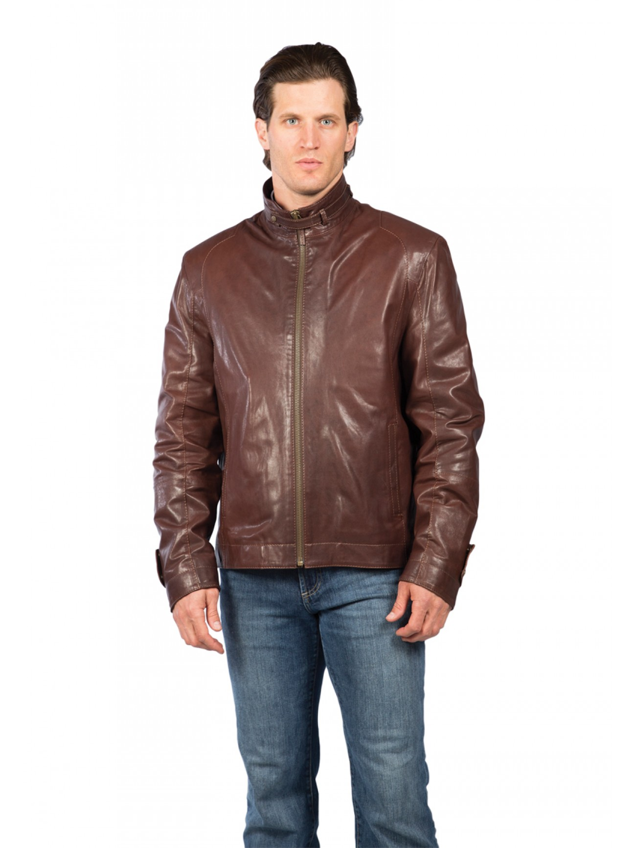 Men S Casual Inspiration 4: Men's Lambskin Leather Jacket