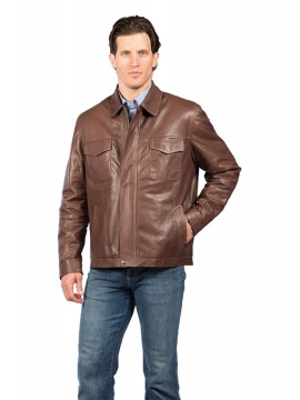 McCloud Lambskin Leather Jacket