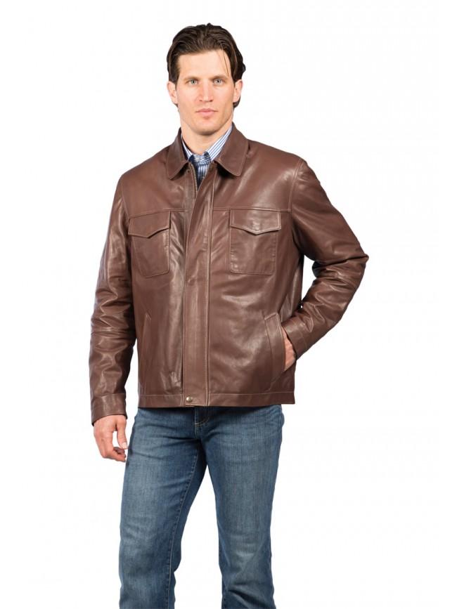 McCloud Lambskin Leather Jacket