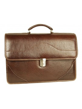 Hammett Double Compartment Briefcase