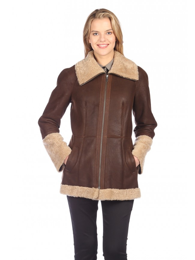 Alyssa Shearling Coat